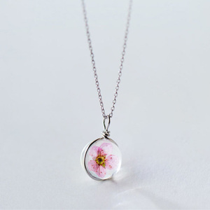 Lifebloom Sterling Silver Necklace