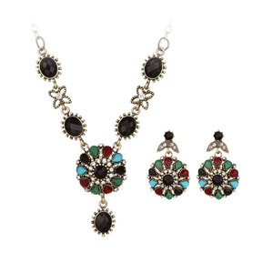 Vintage Ethical Style Diamond Flower Set