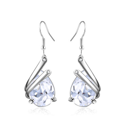 Half-Enclosed Teardrop Drop Earrings