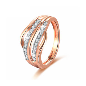 Morbidezza Rose Gold Diamond Ring