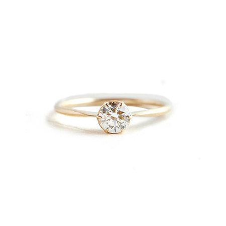 Solitaire Eight Claw Engagement Ring