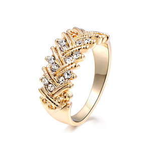 Double Strips Women & Men Diamon Ring