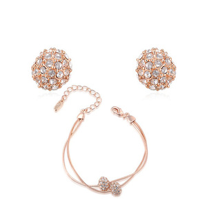 In Pairs Rose Gold Set
