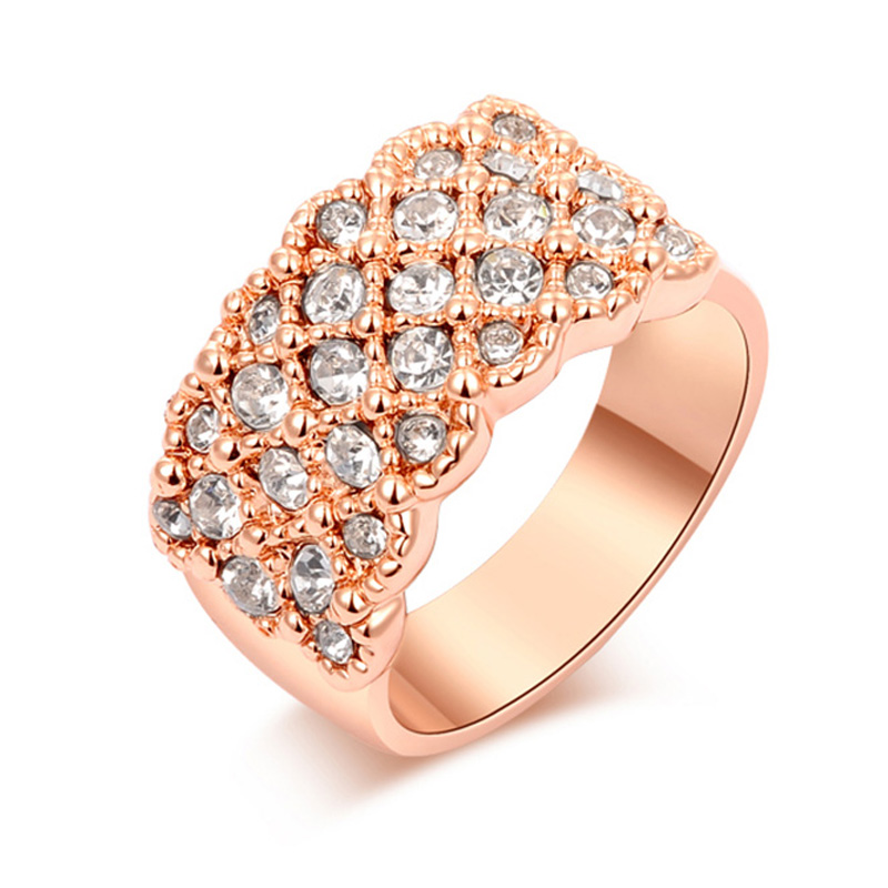 Group Stars Ring - Rose