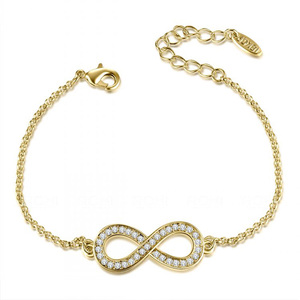 Infinite Love Bracelet - Yellow