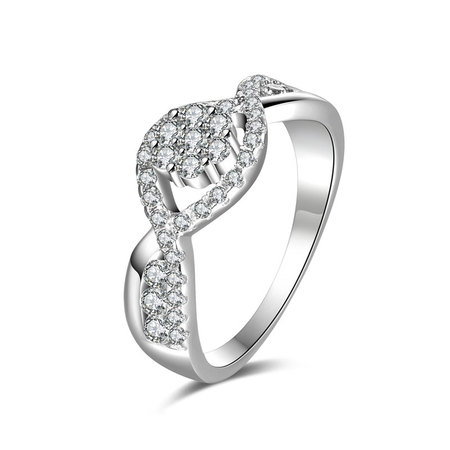 Dual 8 overlapping Wedding Ring
