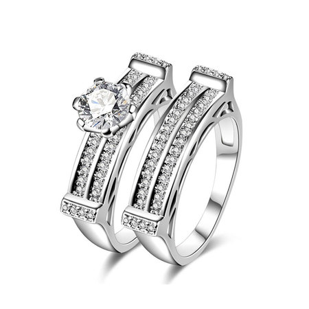 Dual Channel Diamond Couple Rings