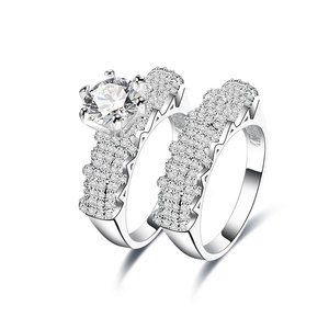 Avenue of Stars Diamond Couple Rings