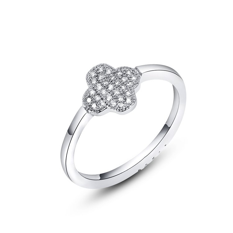 Four-leaf Clover Ring