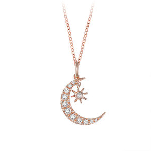 Gorgeous Sun & Moon Necklace