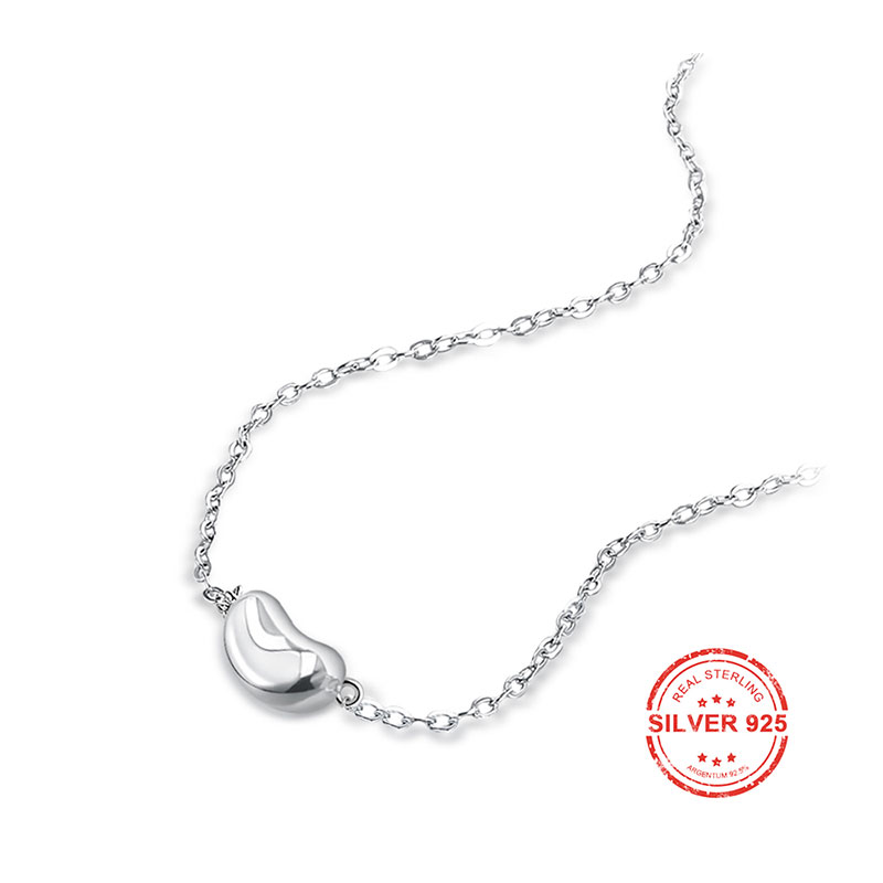 Creative Bean 925 Sterling Silver Necklace