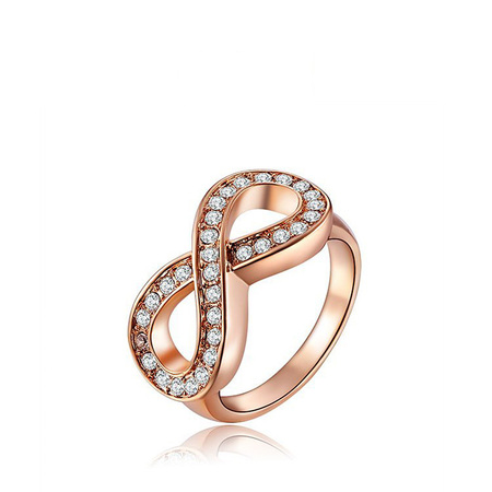 Infinity Rose Gold Ring